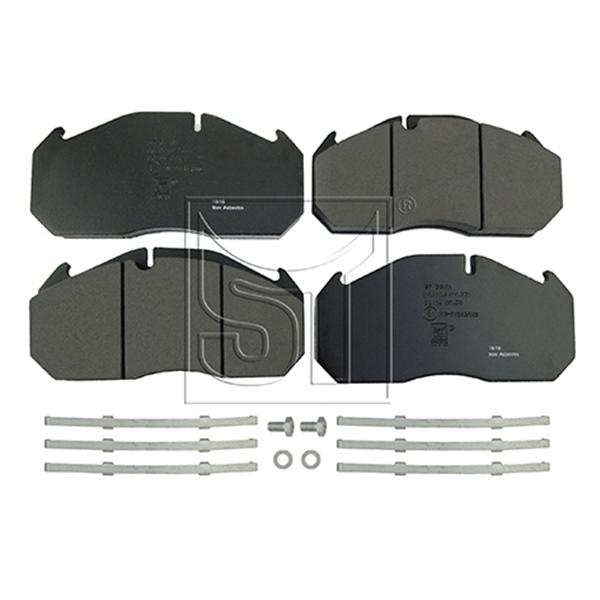 Bremsbelagsatz passend für MAN E 2000, F 2000, F 90, M 2000 L, M 2000 M, TGA