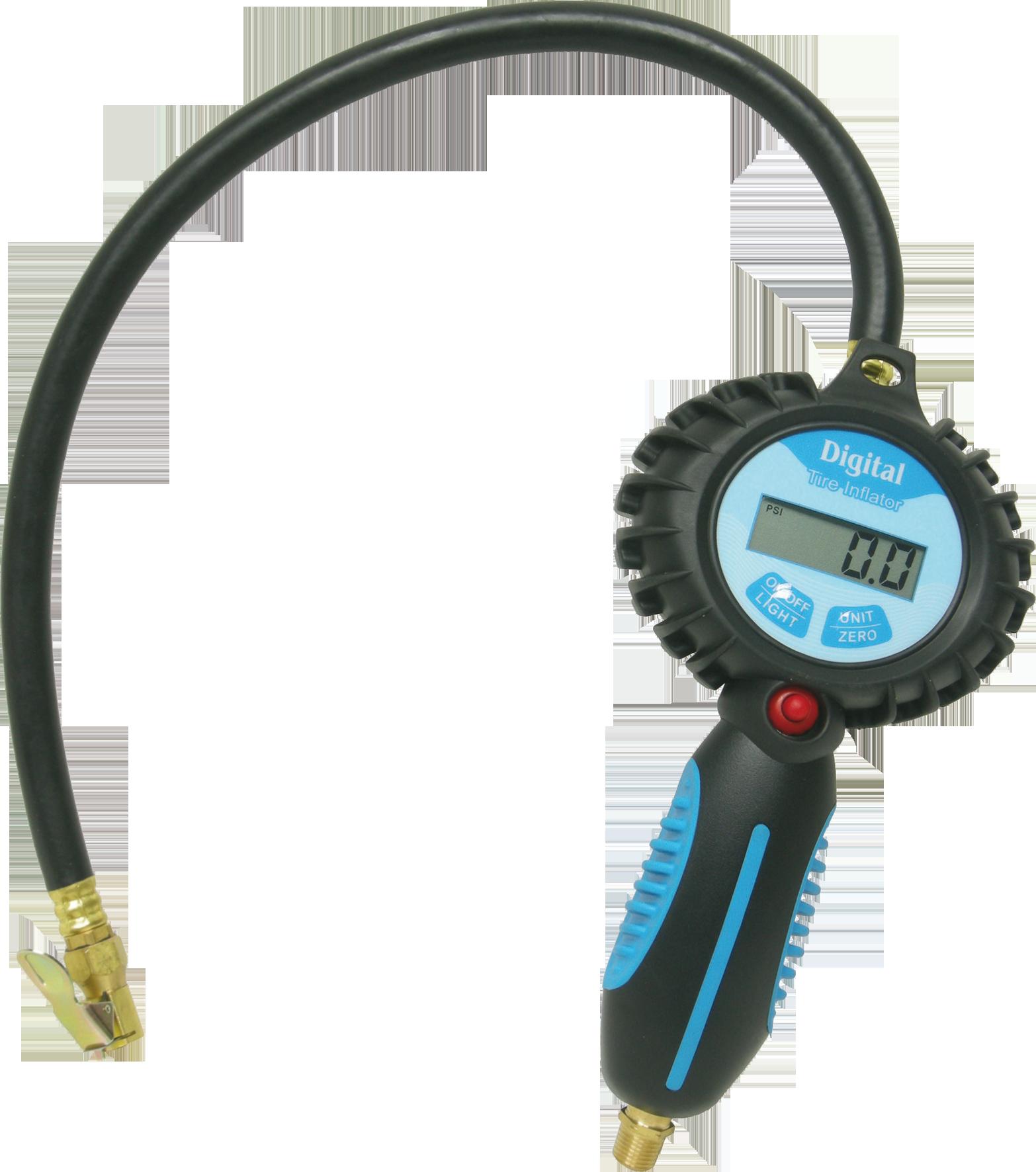 Druckluft Reifenfüller digital 0-11 bar