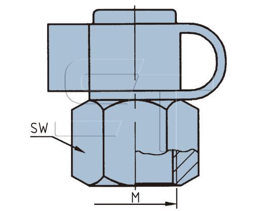 Prüfanschluss M12 x 1,5 Innengewinde