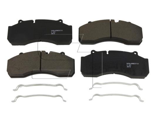 Bremsbelagsatz passend für SAF Intradisc Plus, SK RB, SK RLB, SK RS