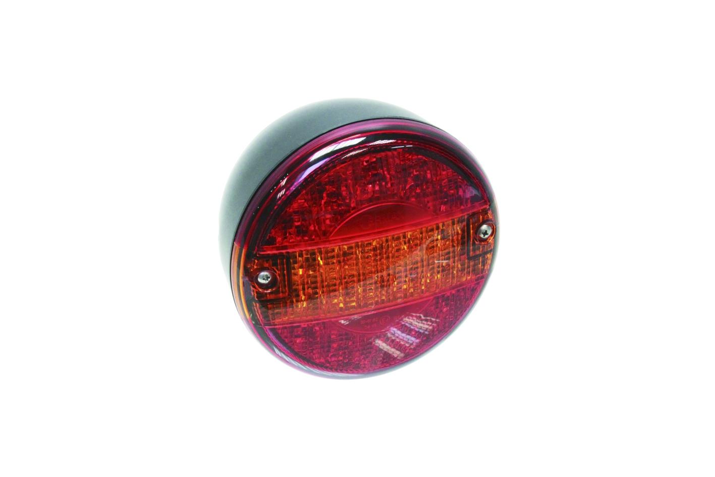 LED Heckleuchte 24 V rund 140mm Durchmesser
